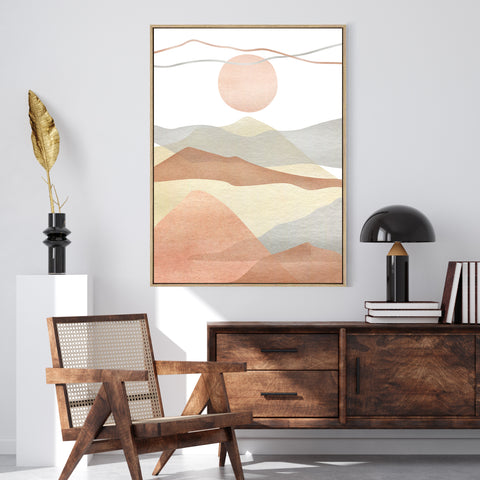 Mountain View | Shadow Framed Art