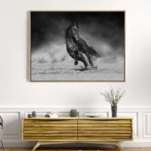 On The Run | Drop Shadow Framed Art