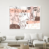 Party People | Shadow Framed Art