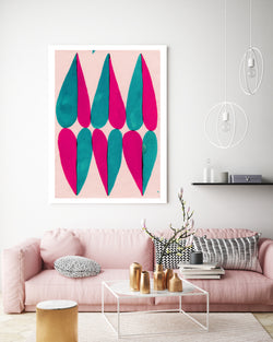 Six of Hearts | Canvas Art
