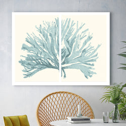 Pastel Coral | Canvas Art