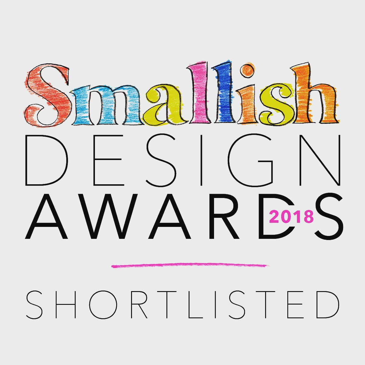 We've been shortlisted for another award!!