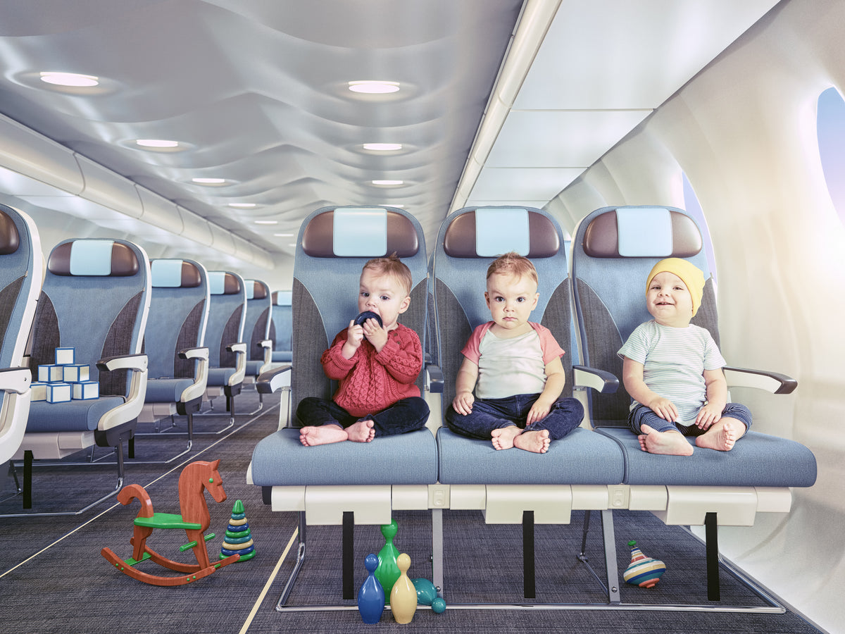 Top tips for travelling with a toddler on a plane