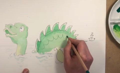 Learn To Draw With Nick Ellwood