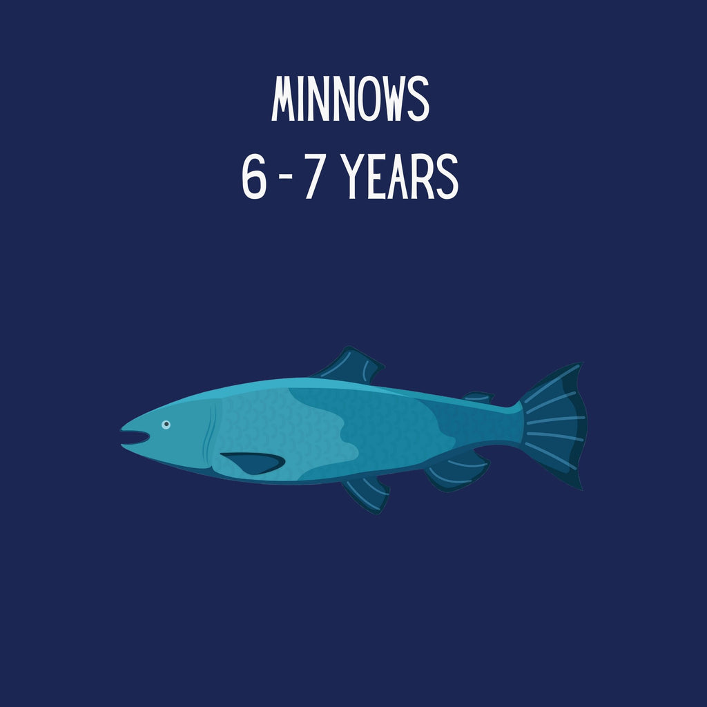 Minnows: 6-7 years (girls)