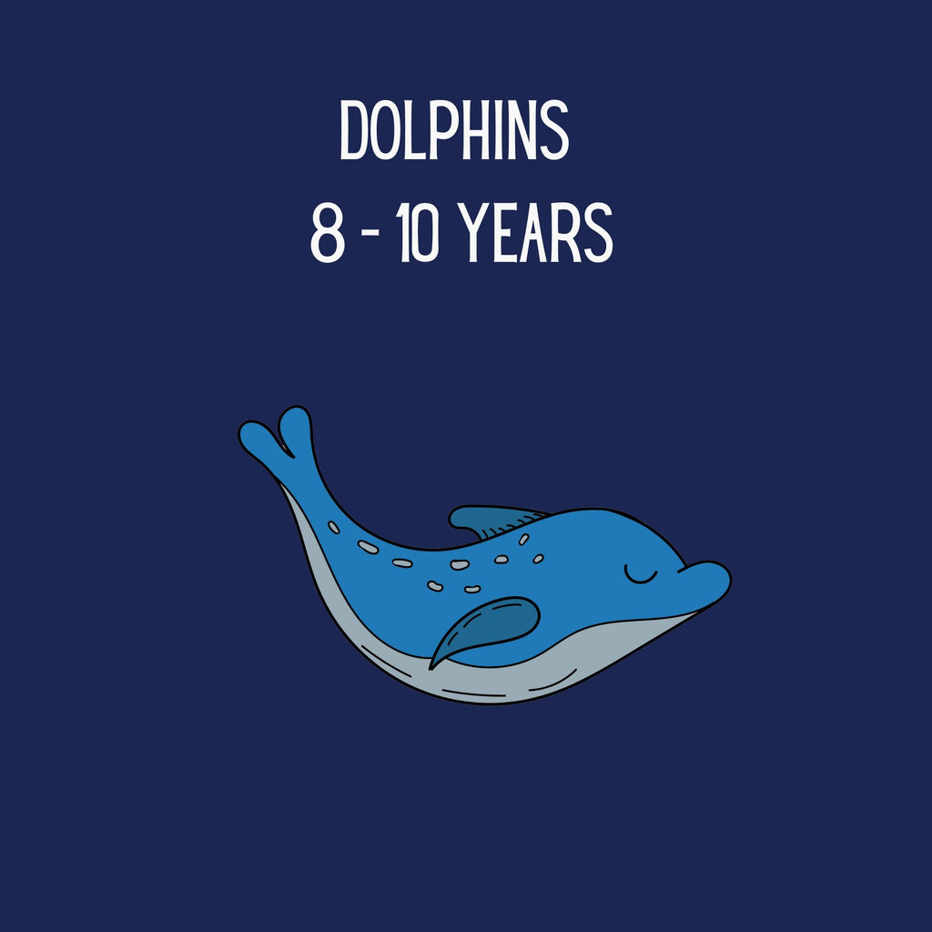 Dolphins: 8-10 years (boys)