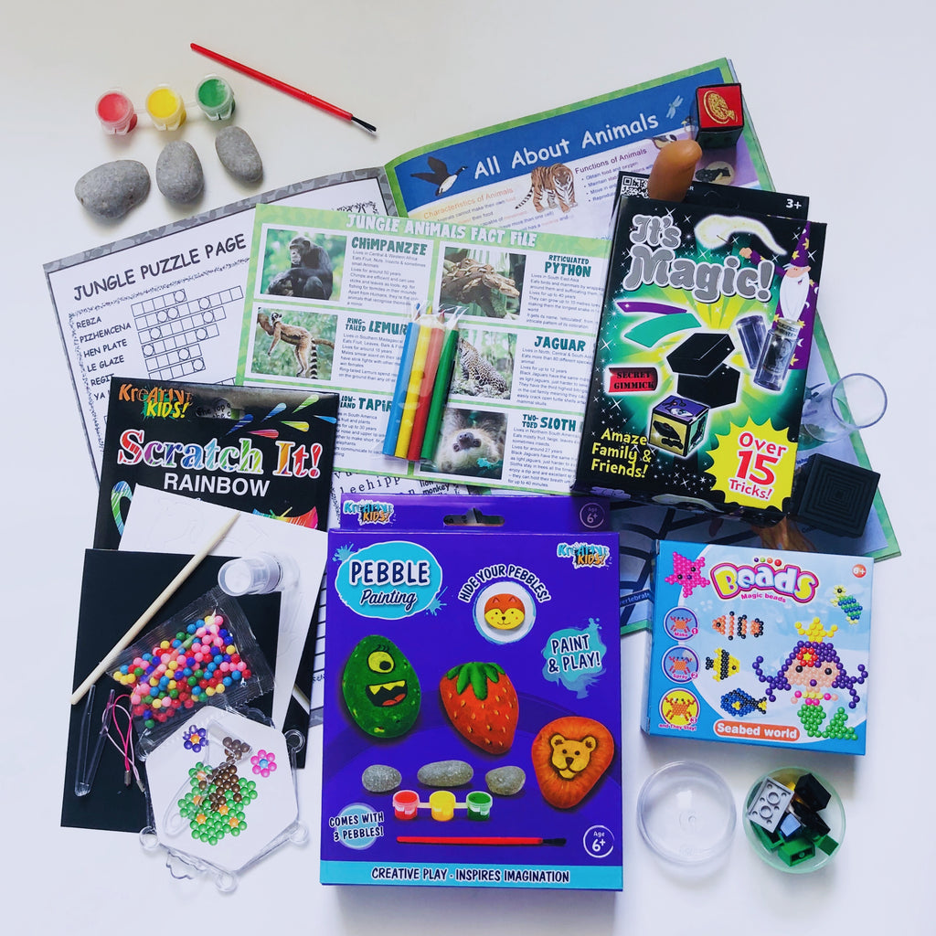 Grab & Go Holiday Activity Packs