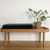 BENCH SEAT CUSHION - DUSTY GREEN