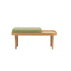 BENCH SEAT CUSHION - SOFT GREEN
