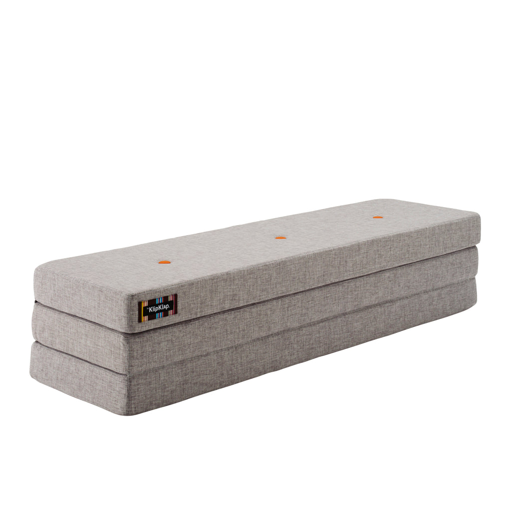 by KlipKlap KK 3 Fold - Multi grey w. orange