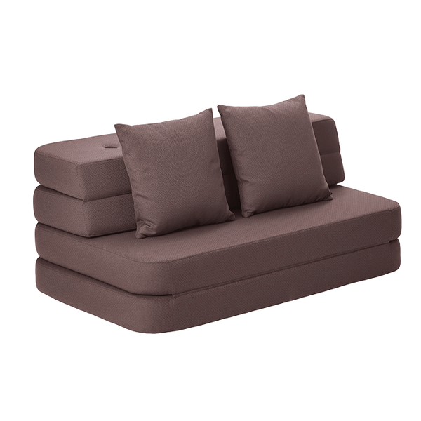 KK 3 FOLD SOFA - HUCKLEBERRY ROSE. ONLINE EXCLUSIVE