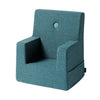 KK KIDS CHAIR - DUSTY BLUE W. BLUE. OUTLET