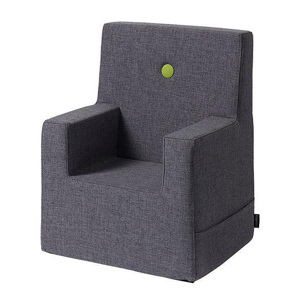 KK KIDS CHAIR XL - BLUE GREY W. GREEN