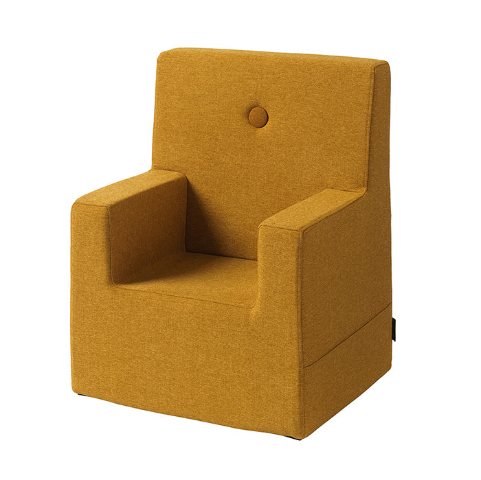 by KlipKlap KK Kids Chair XL - Mustard w. mustard