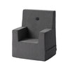 KK KIDS CHAIR XL - SHADOW GREY. ONLINE EXCLUSIVE