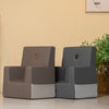 KK KIDS CHAIR RB - GREY W. DARK GREY