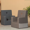 KK KIDS CHAIR XL RB - GREY W. DARK GREY
