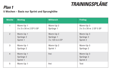SportHacks Athletik Deep Dive Trainingsplan von Sven Knipphals