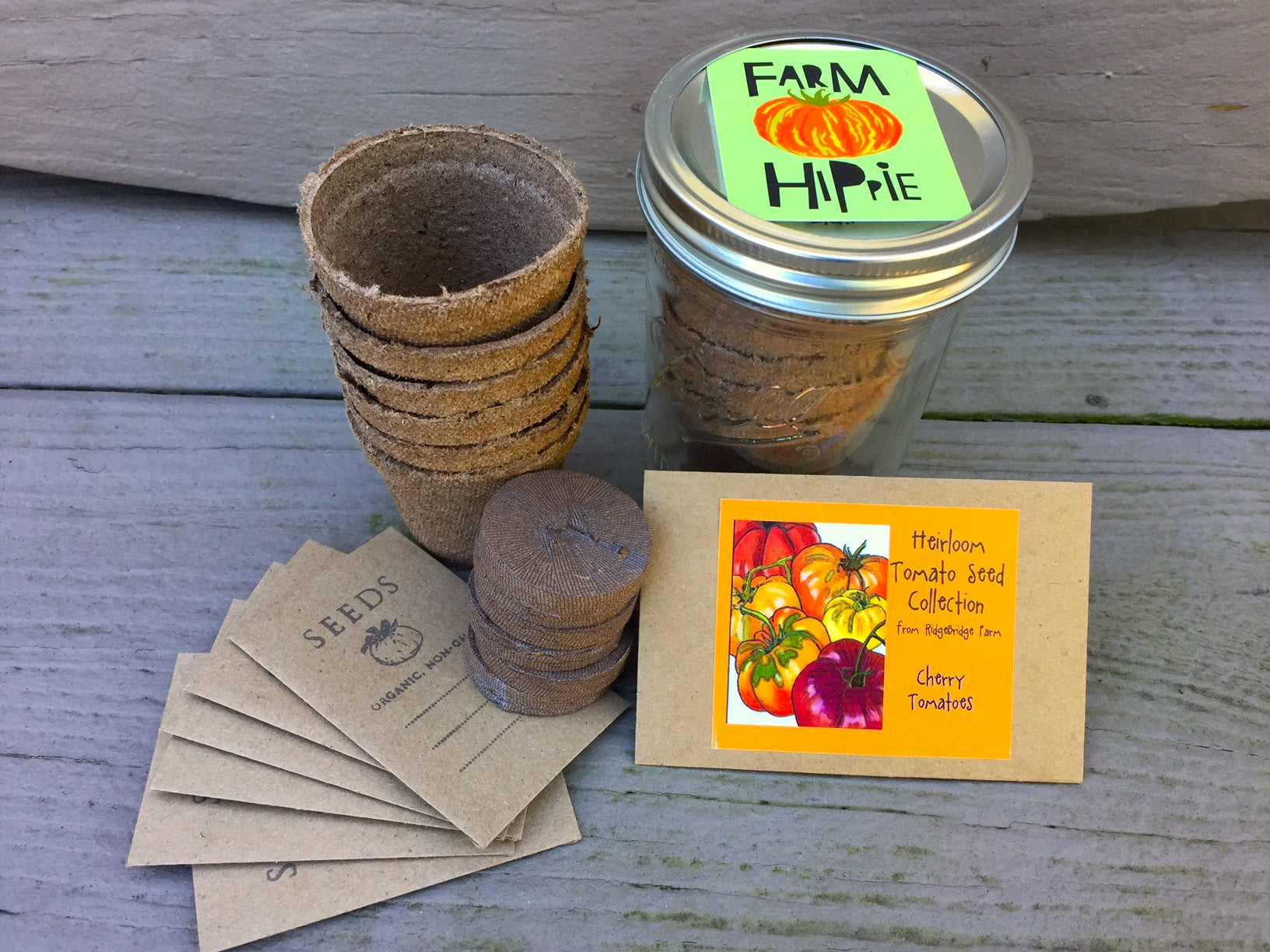 Heirloom Tomato Seed Gift Sets