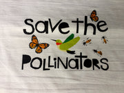 Save The Pollinators Flour Sack Towels