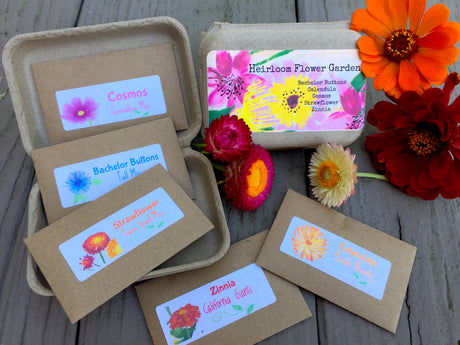 Heirloom Cutting Flower Garden