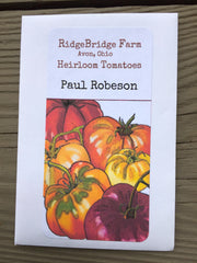 Paul Robeson Heirloom Tomato Seeds