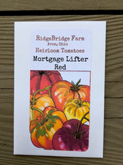 Mortgage Lifter Red Heirloom Tomato Seeds