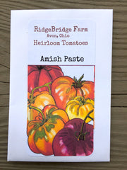 Amish Paste Heirloom Tomato Seeds