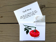 Heirloom Tomato Seed Card - Tidwell German