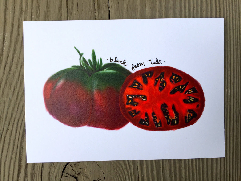 Heirloom Tomato Seed Card - Black from Tula