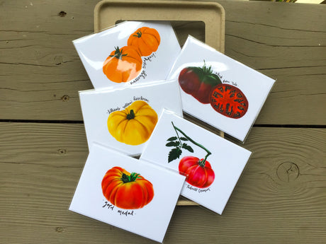 Heirloom Tomato Seed Card Collection (5)