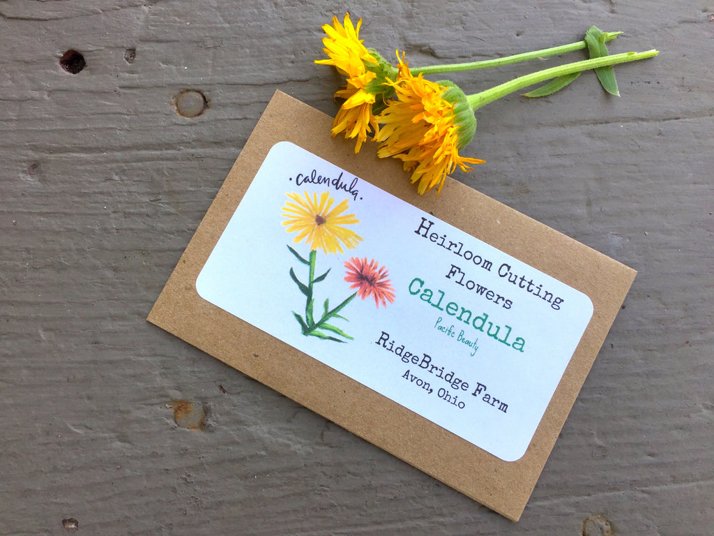 Calendula Seed Packet