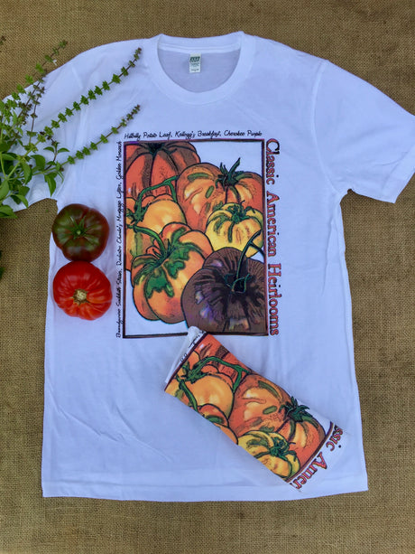 Classic American Heirloom Tomatoes Organic T-Shirt