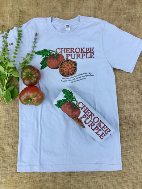Heirloom Tomato T-shirt Cherokee Purple