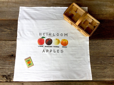 Heirloom Apple Flour Sack Towel
