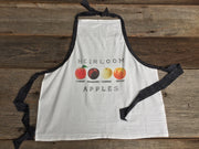 The Original Flour Sack Apron- Heirloom Apples
