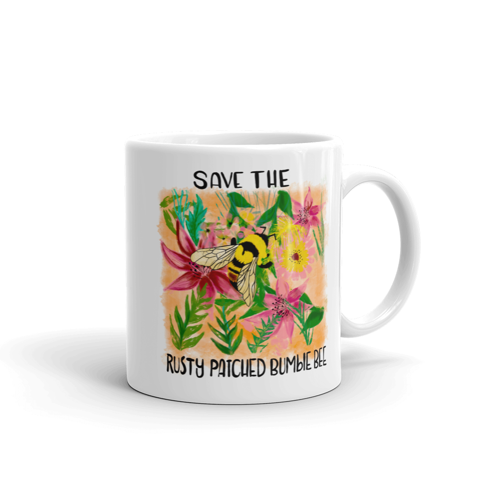 Save the Rusty Patched Bumblebee Mug