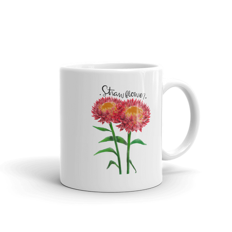Strawflower Mug