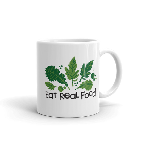 Eat Real Food Mug