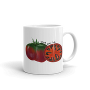 Black From Tula Heirloom Tomato Mug