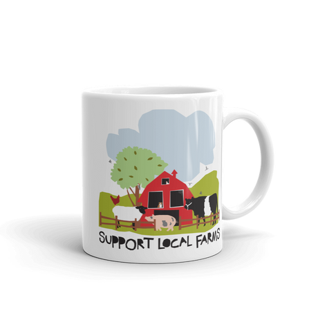 Support Local Farms Mug