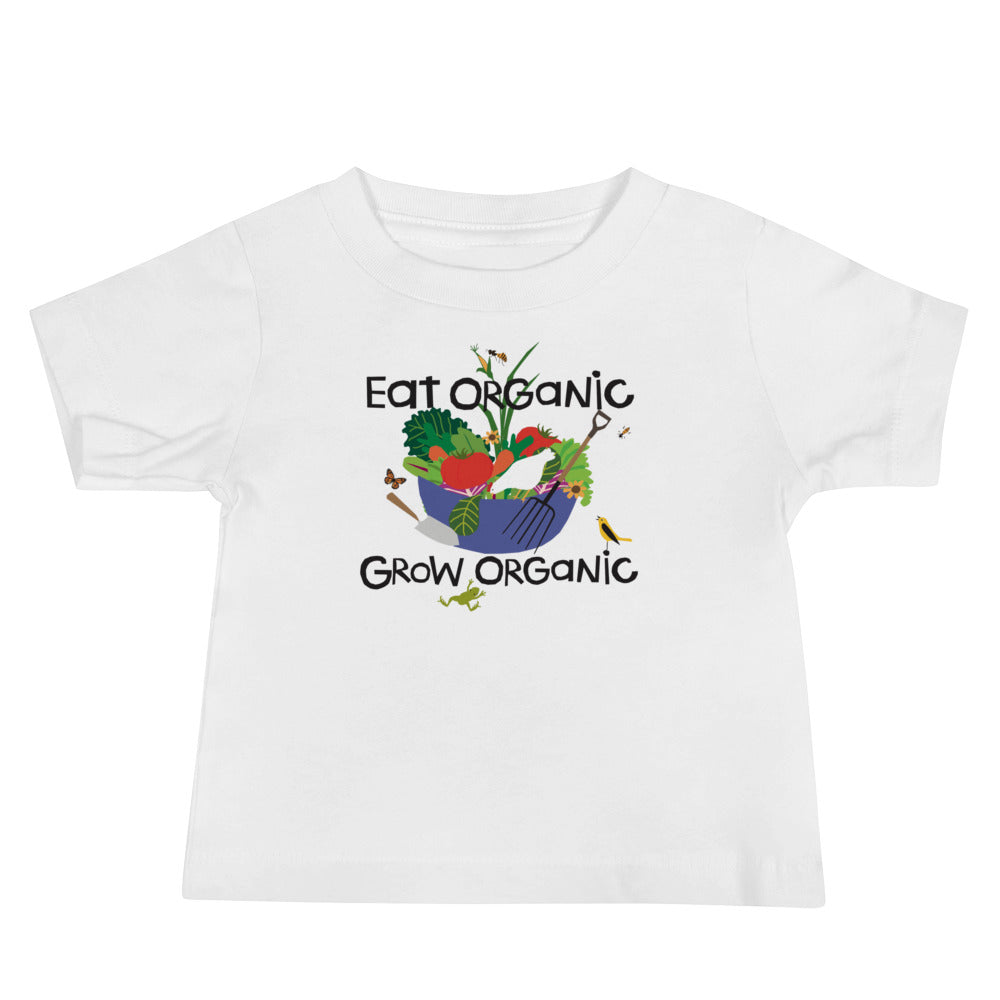 Toddler Eat Organic T-Shirt