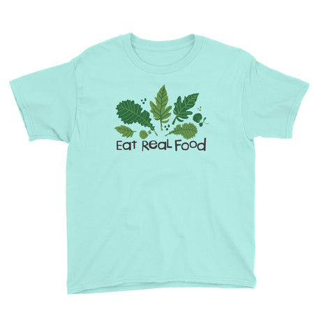 Youth Eat Real Food T-Shirt