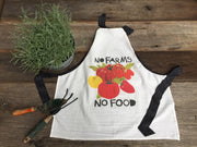 The Original Flour Sack Apron - No Farms No Food