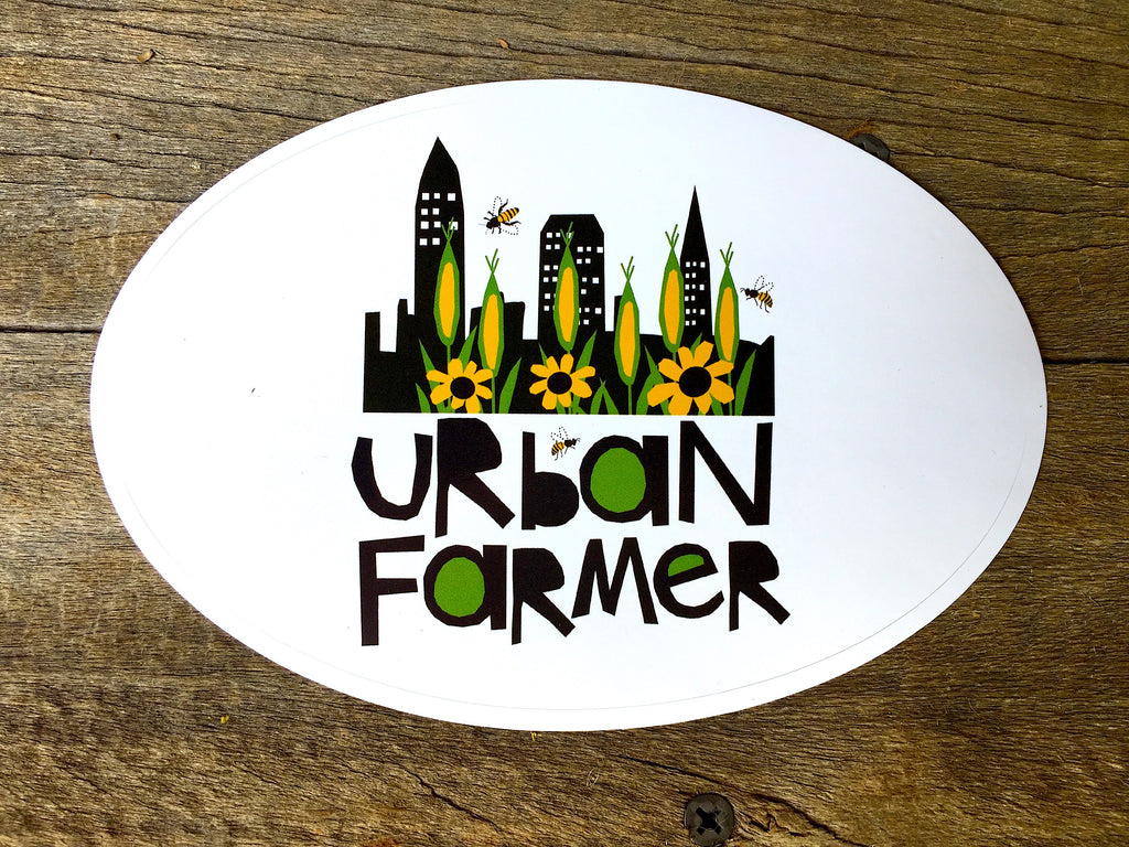 Vinyl Sticker - URBAN FARMER