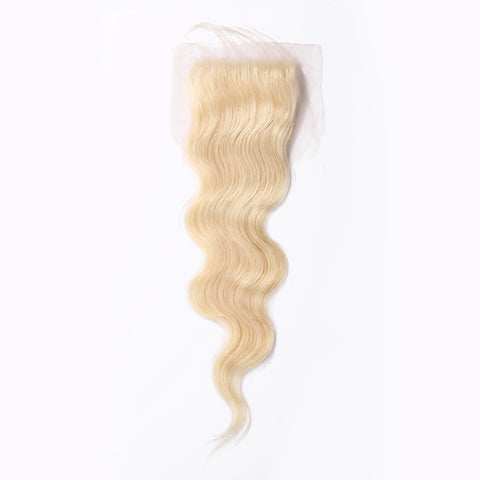 Russian Blonde (613) Bodywave Closure