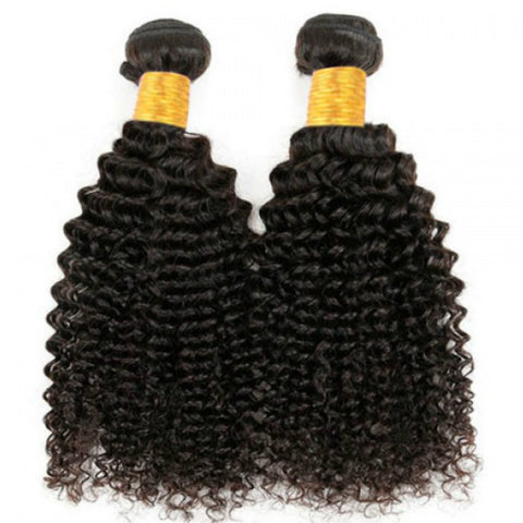 Malaysian Kinky Curly  virgin Hair