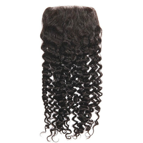 Malaysian Kinky Curly Lace Closure