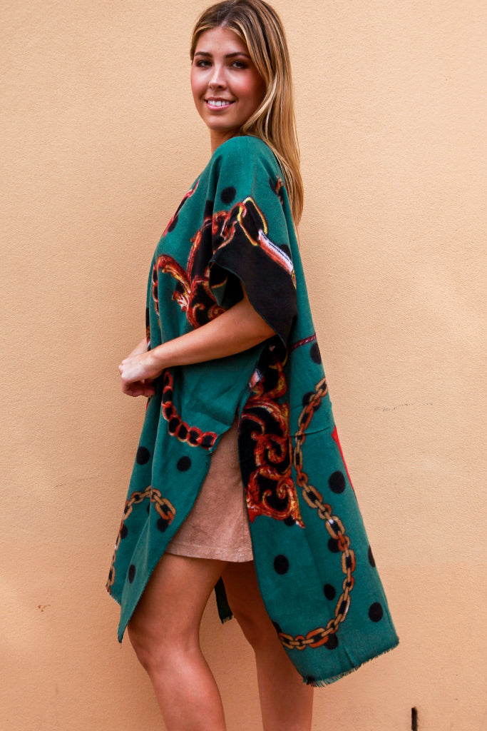 XF0075 Thick Autumn Cape