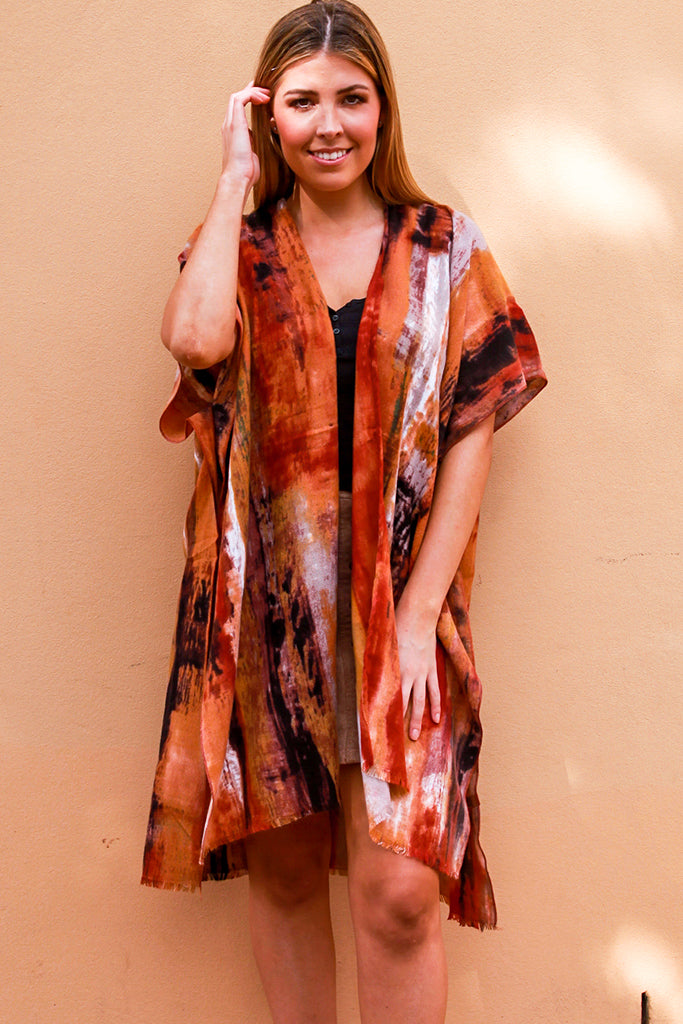XF0069 Thick Autumn Cape